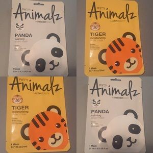 Other - 4 pretty animal face masks